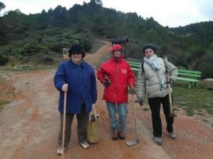 Travaux à l'aire de pique-nique, à la stèle et au Serrat de La Bade
