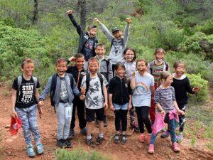 Balade des écoliers de Tournissan le 7 juin 2018
